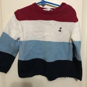 Janie and jack boys sweater size 3